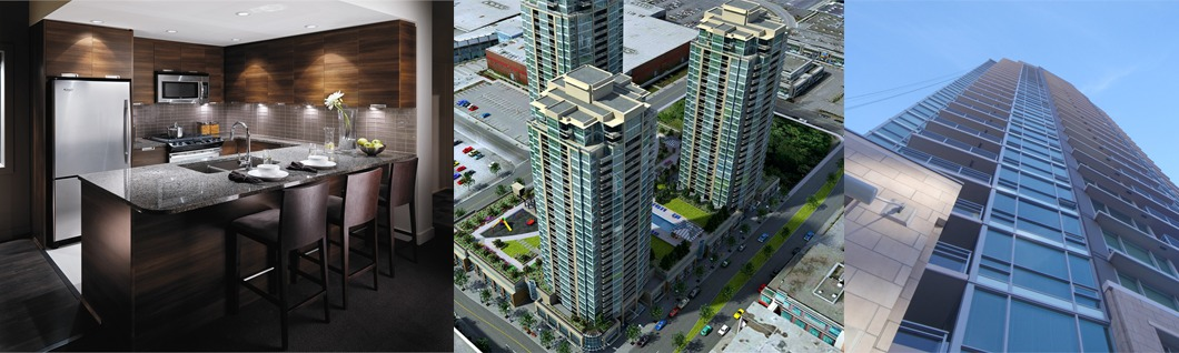Grand Central Towers 1 & 2 – Coquitlam, BC, 2012