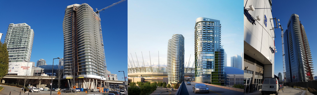 Arena Towers – South Tower 2 – Vancouver, BC, 2017